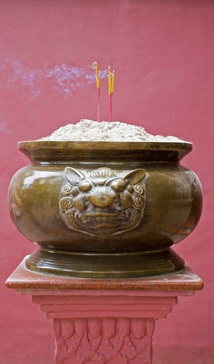Incense sticks, Cambodia, Asia : Stock Photo