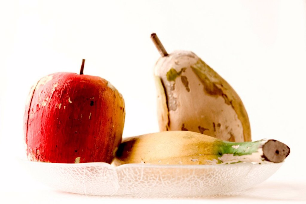 Stock Photo: 1848R-376594 Decoration wood fruit