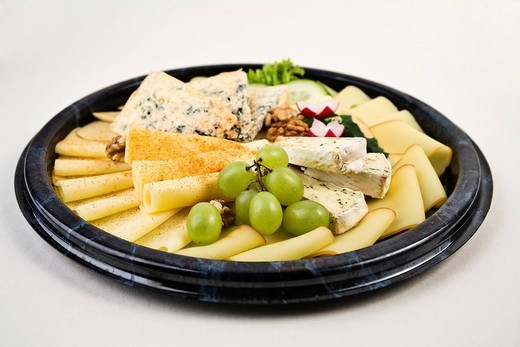 Stock Photo: 1848R-380556 Cheese platter