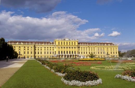 Stock Photo: 1848R-381917 Castle Schönbrunn - Vienna - Austria