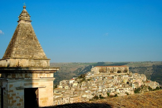 View at Ragusa Ibla Italy : Stock Photo