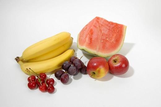 Stock Photo: 1848R-383297 Fruits