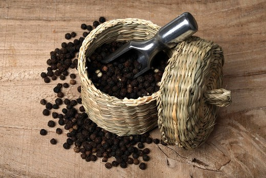 Black pepper : Stock Photo
