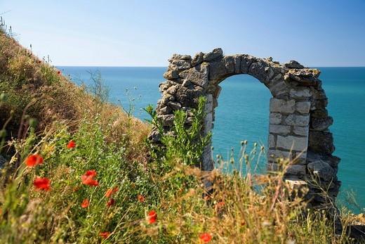 Cape Kaliakra, Black Sea, Bulgaria : Stock Photo