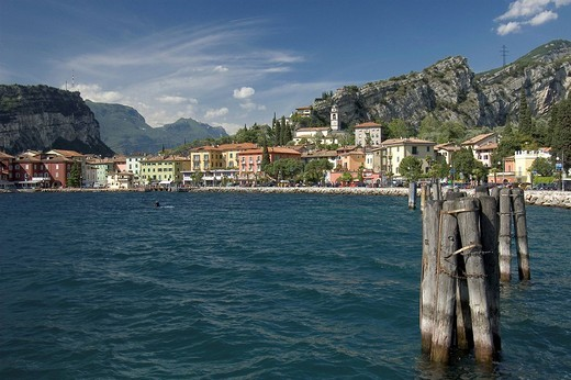 Stock Photo: 1848R-390797 Torbole, Lake Garda, Italy