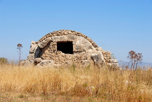 Royal Tombs Tomb Nr. 50 St. Katharina´s prison Necropolis of Salamis North Cyprus : Stock Photo