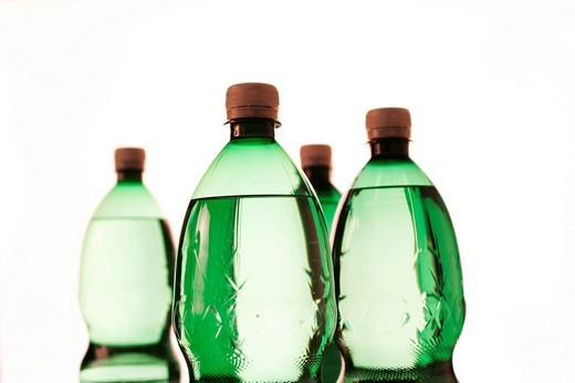 Plastic bottles : Stock Photo