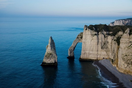 Etretat, France, Normandy : Stock Photo