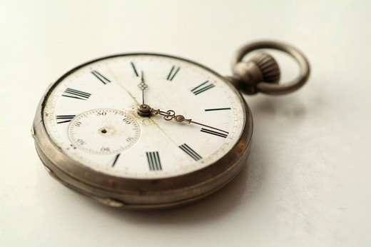 Old pocket watch : Stock Photo
