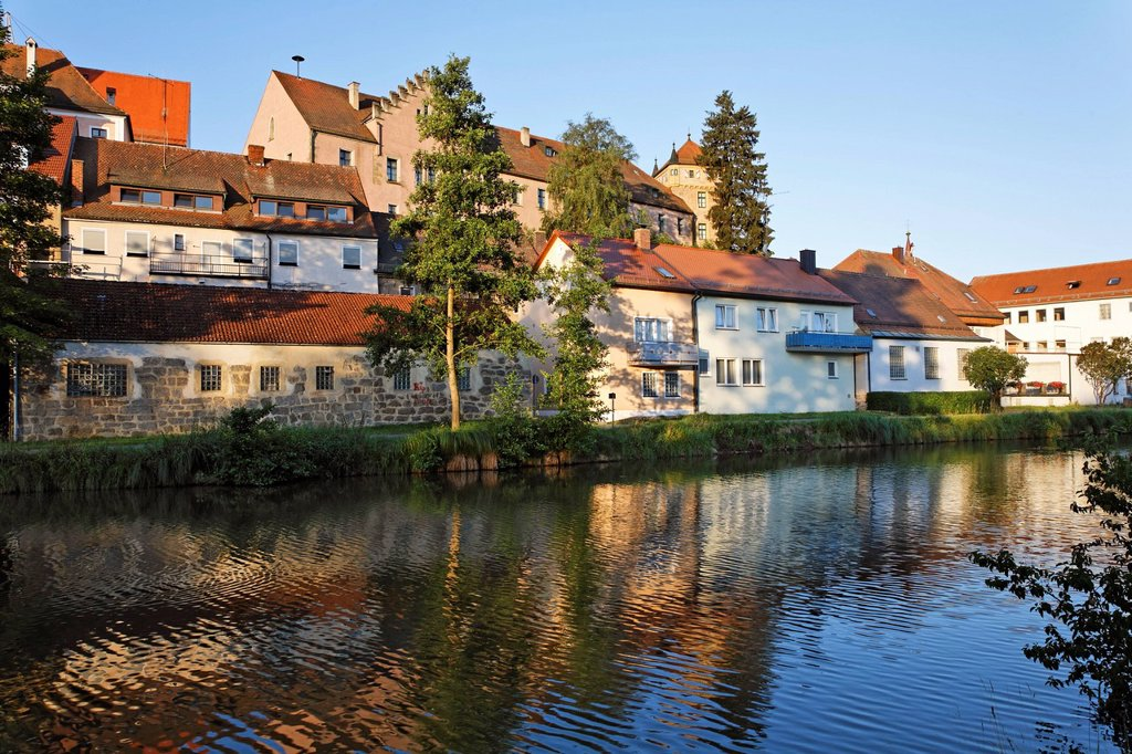 Neunburg vorm Wald , Upper Palatinate Bavaria Germany : Stock Photo
