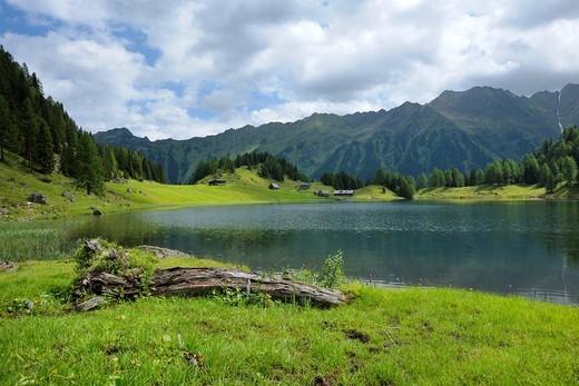 Duisitzkarsee lake, Schladminger Tauern mountains, Styria, Austria, Europe : Stock Photo