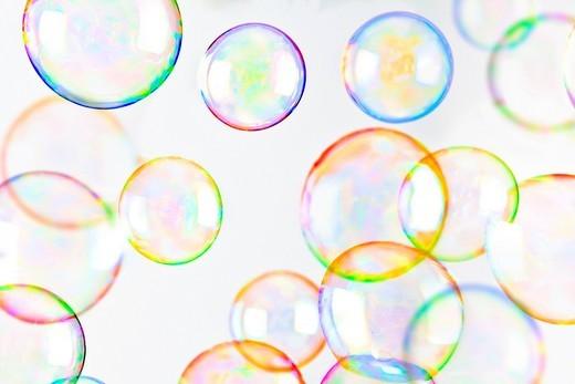 Soap bubbles : Stock Photo