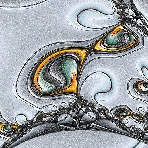 Stock Photo: 1848R-514475 Fractal graphics, abstract