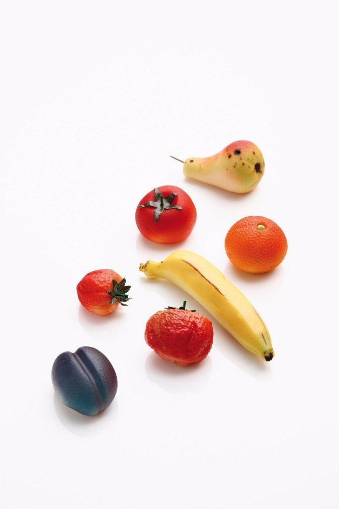 Stock Photo: 1848R-519162 Marzipan fruits