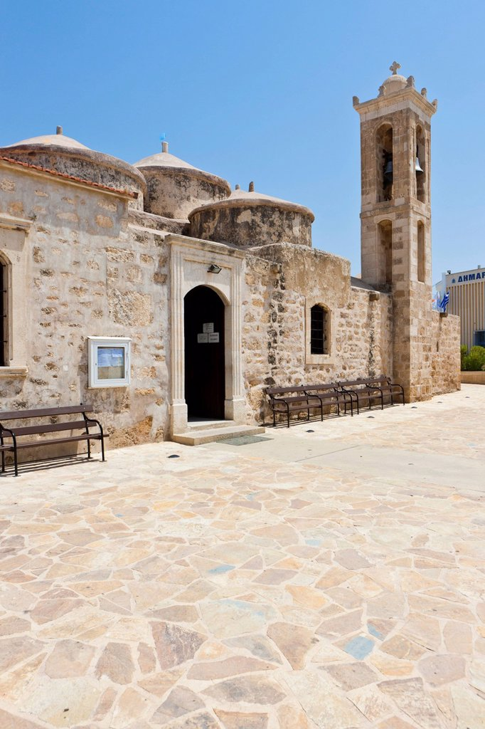 Stock Photo: 1848R-523128 Agia Paraskevi church, also called Ayia Paraskevi church, Yeroskipou, UNESCO World Heritage site, southern Cyprus