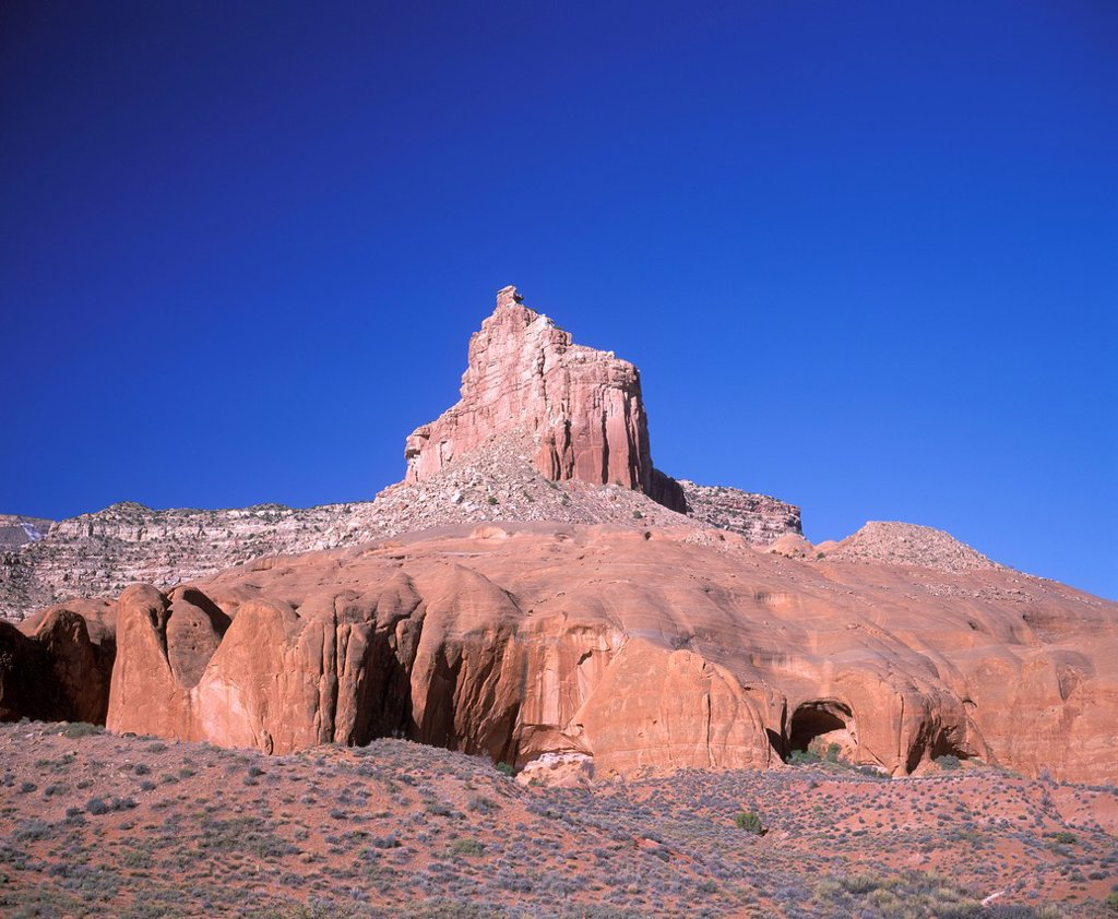Cave Point, Grand Staircase_Escalante National Monument, Utah, USA : Stock Photo