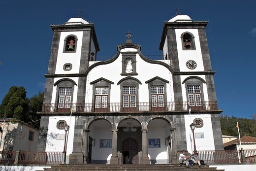 Stock Photo: 1848R-524071 Church Nossa Senhora do Monte in Monte _ Madeira
