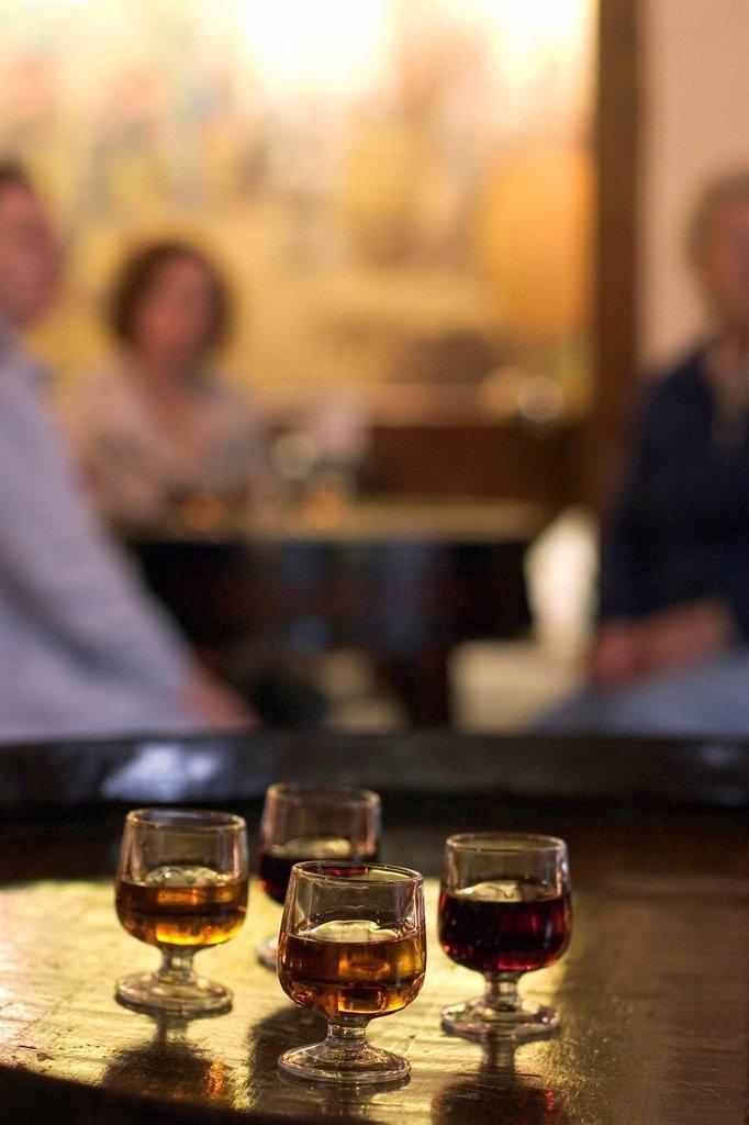 Wine tasting _ Madeira Wine Company _ Funchal _ Madeira : Stock Photo