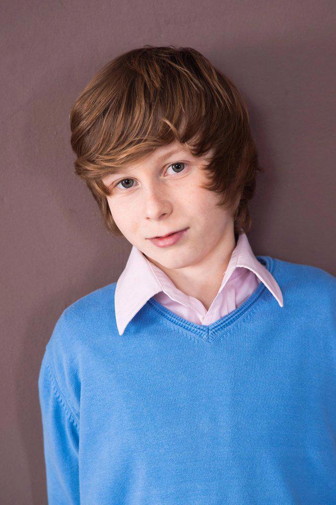 Boy, portrait : Stock Photo