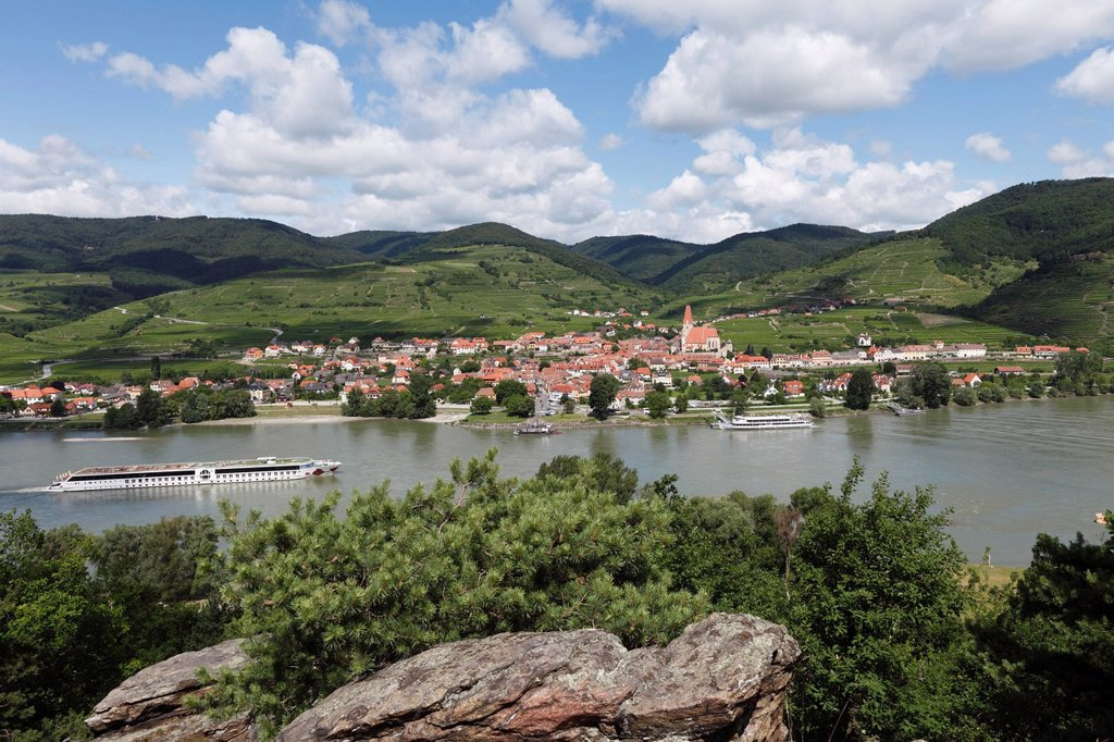 Stock Photo: 1848R-632770 Weissenkirchen in the Wachau, Lower Austria, Austria, Europe
