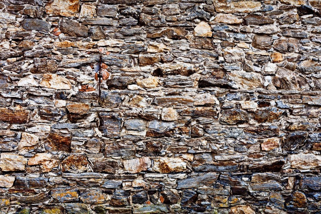 Stock Photo: 1848R-634326 Stone wall, structure, background