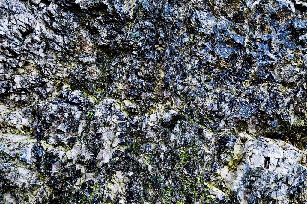 Stock Photo: 1848R-634663 Wet rocks, Hohe Tauern, Steiermark, Oesterreich, Europa