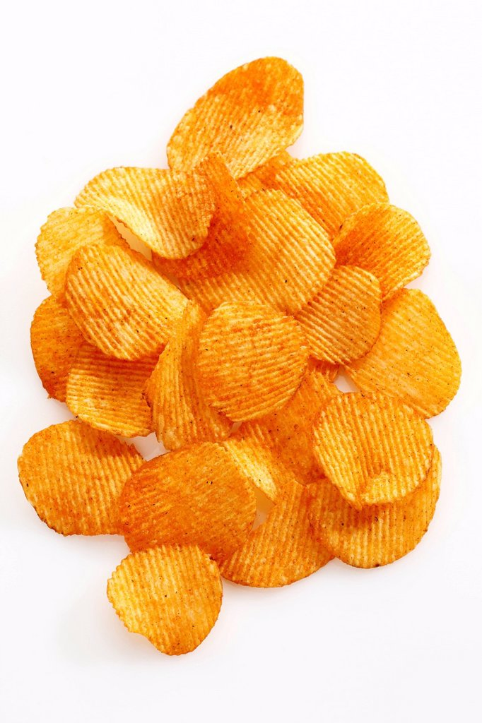Stock Photo: 1848R-634743 Paprika potato chips