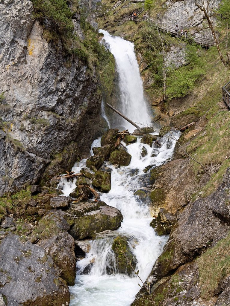 Stock Photo: 1848R-635118 Wasserlochklamm gorge near Palfau, Upper Styria, Styria, Austria, Europe