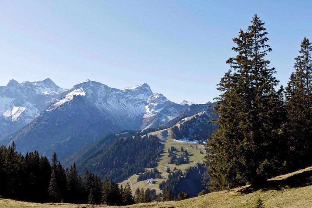 Vorarlberg Alps, Brandnertal valley, Austria, Europe : Stock Photo