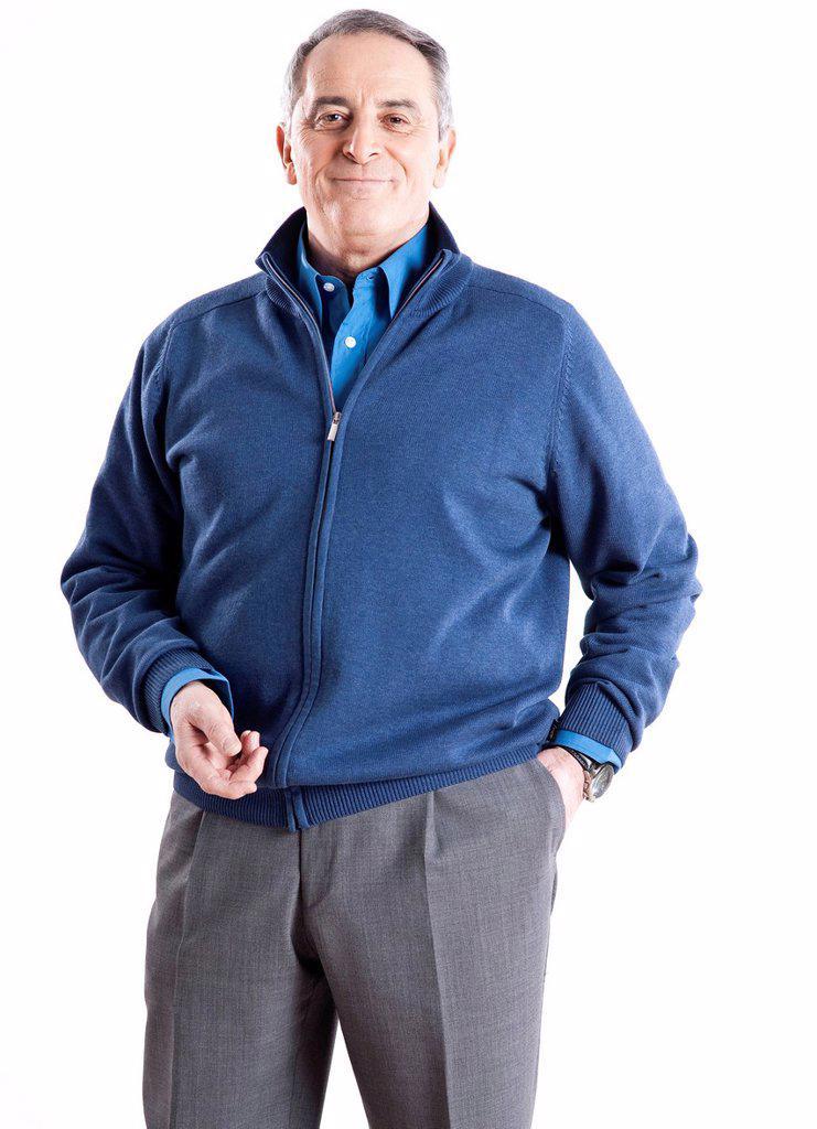 Stock Photo: 1848R-639112 Elderly man