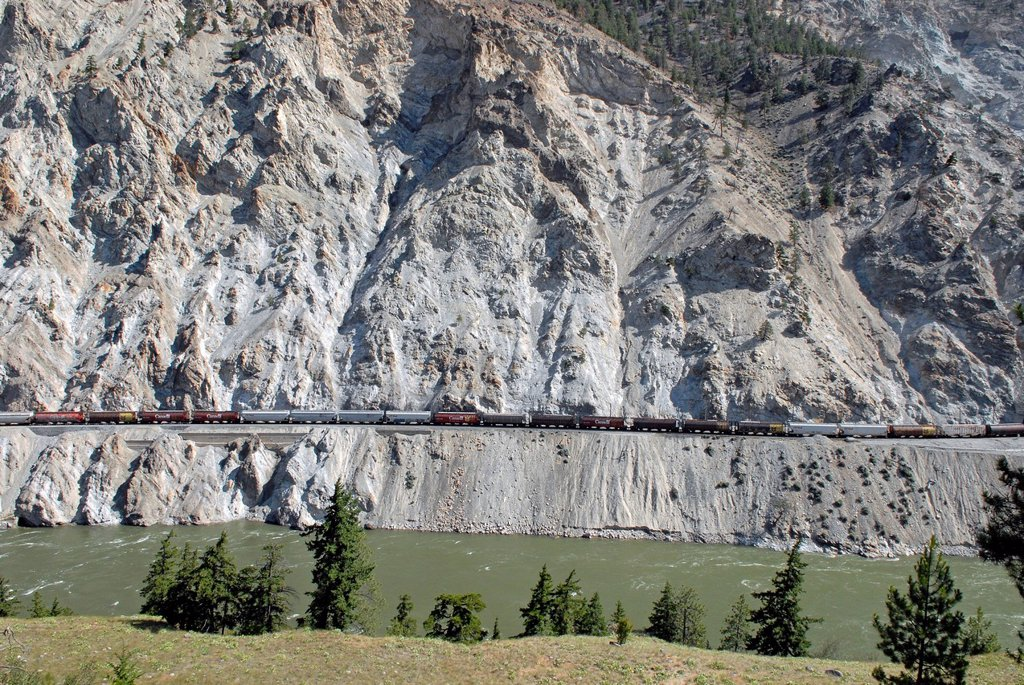 Great Pacific Railway, Cache Creek, British Columbia, Canada, North America : Stock Photo