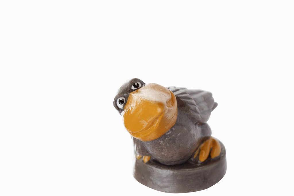 Stock Photo: 1848R-643727 Cartoon character, bird with large beak