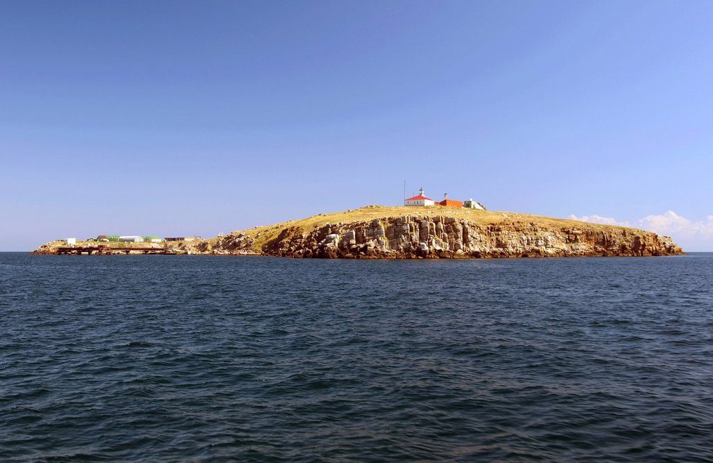 Stock Photo: 1848R-643953 Zmiinyi Island, Snake Island, Black Sea, Odessa, Ukraine, Eastern Europe