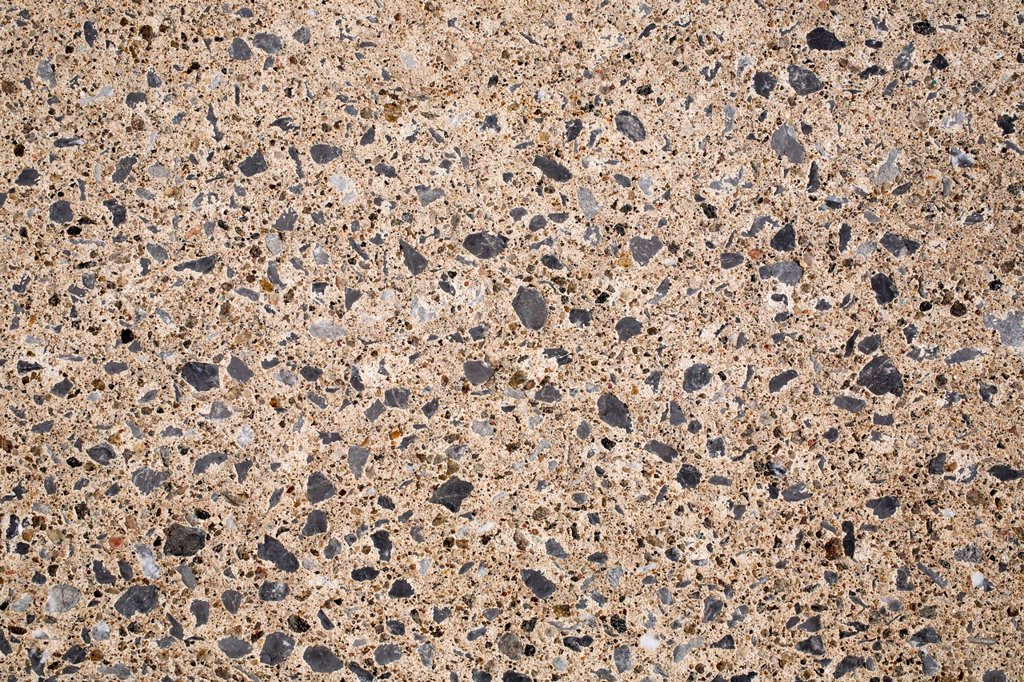 Cement with small stones : Stock Photo