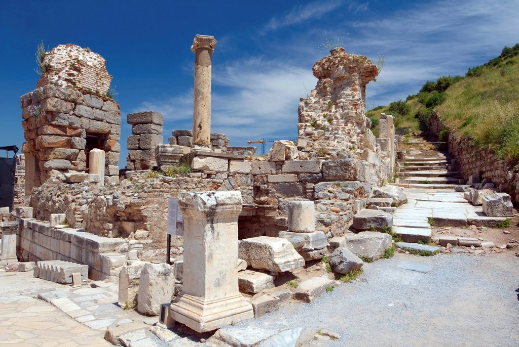 Stock Photo: 1848R-739754 Antique city of Ephesus, Turkey, Western Asia