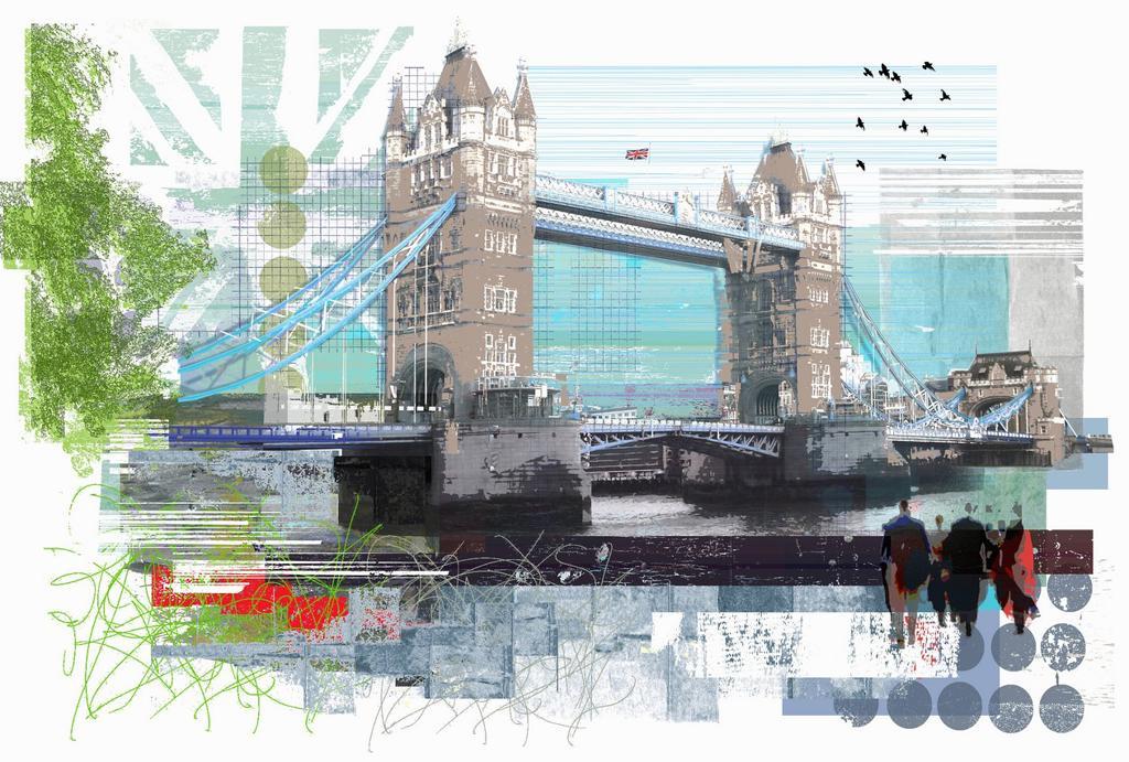 Stock Photo: 1849-4628 Tower Bridge, London