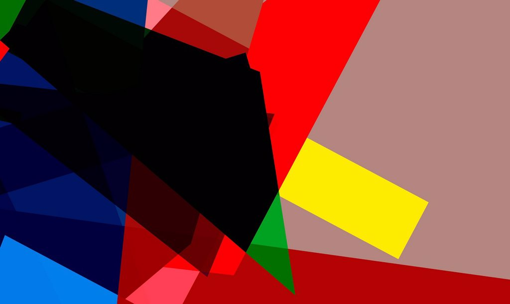 Stock Photo: 1849-5007 Abstract multicolored geometric shapes