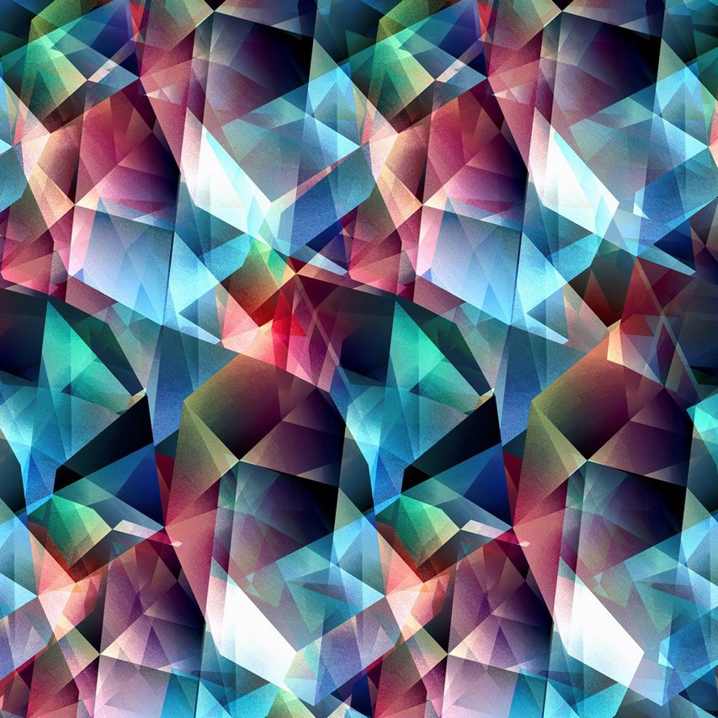 Stock Photo: 1849-5433 Abstract multicolored geometric pattern