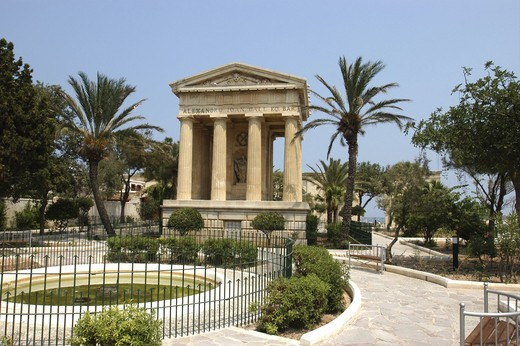 Stock Photo: 1850-13498 Malta, Valletta , The Lower Barrakka Garden