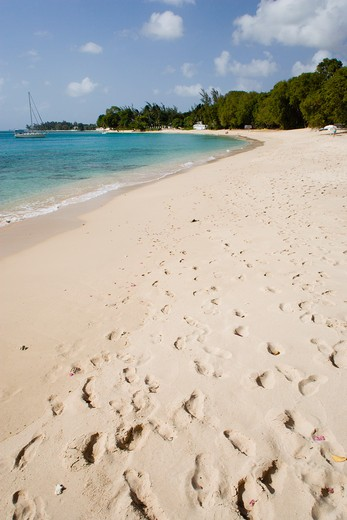Stock Photo: 1850-14364 West Indies, Barbados, St Peter, Gibbes Bay Beach