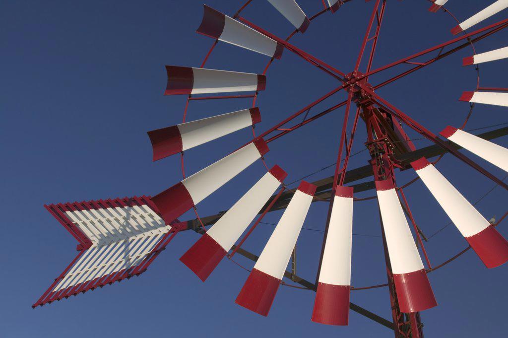 Spain, Balearic Islands, Mallorca, Detail Of Windmill Near Palma De Mallorca. : Stock Photo