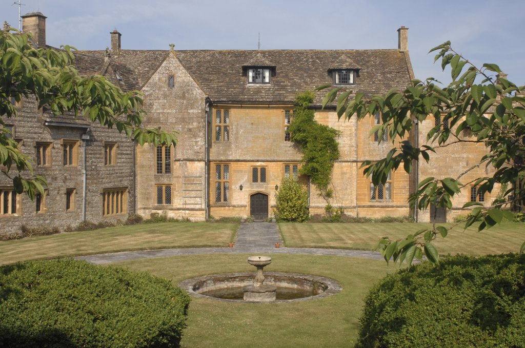 Stock Photo: 1850-28306 England, Dorset, Dorcester, Chantmarle Manor House