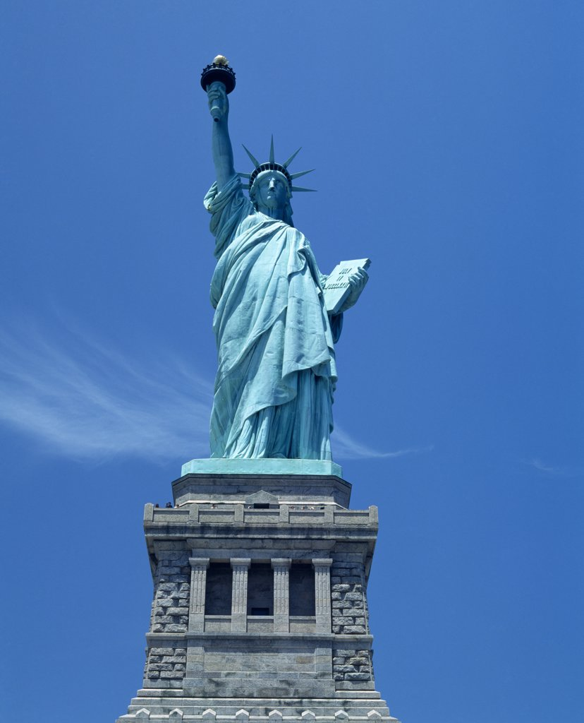 Stock Photo: 1850-30522 USA, New York State, New York, Statue of Liberty