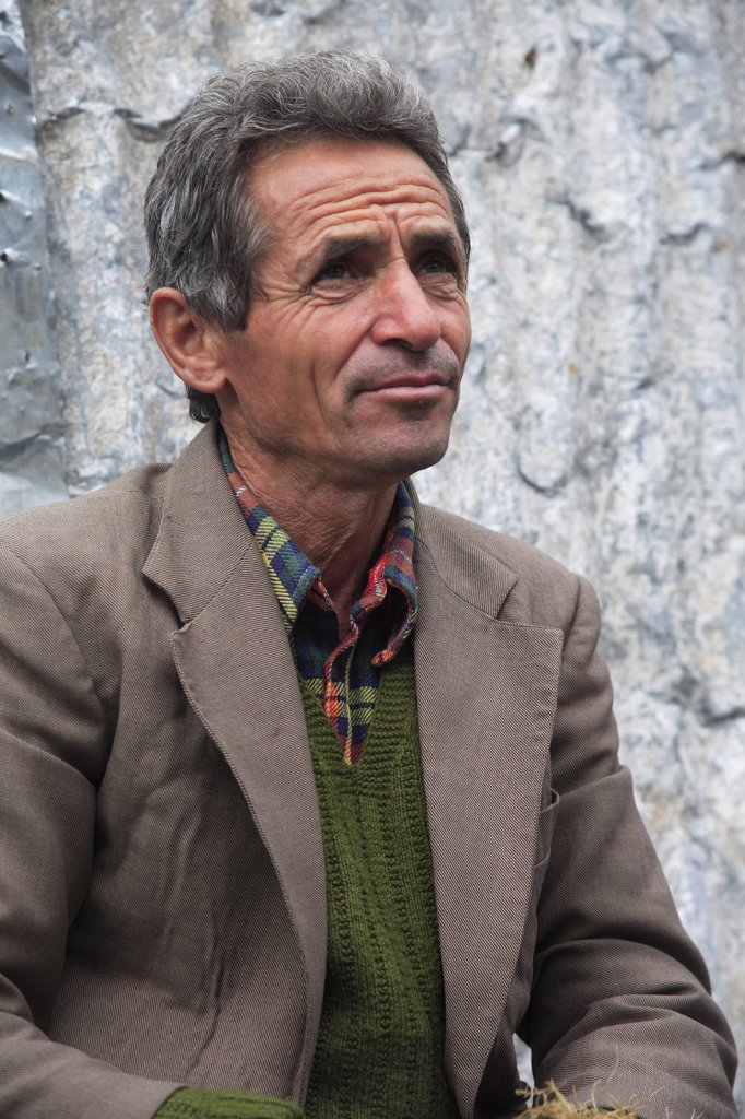 Stock Photo: 1850-32411 Albania, Tirane, Tirana, Head and shoulders portrait of a middle-aged man.
