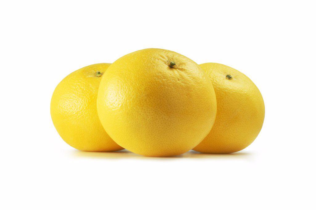 Citrus paradisi, Grapefruit : Stock Photo
