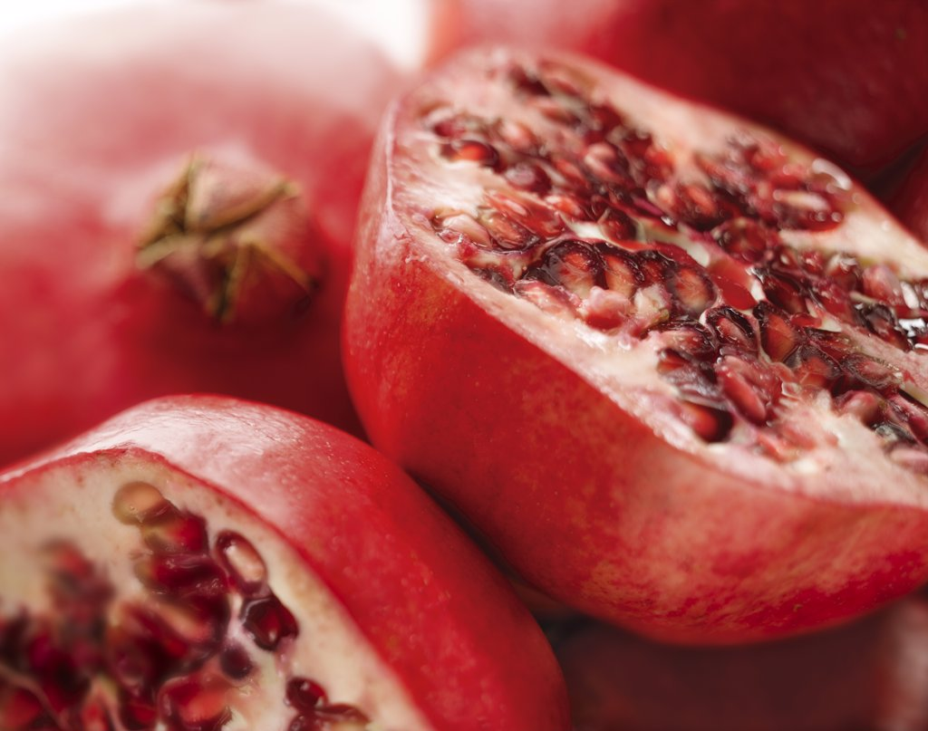 Stock Photo: 1850-36765 Punica granatum, Pomegranate