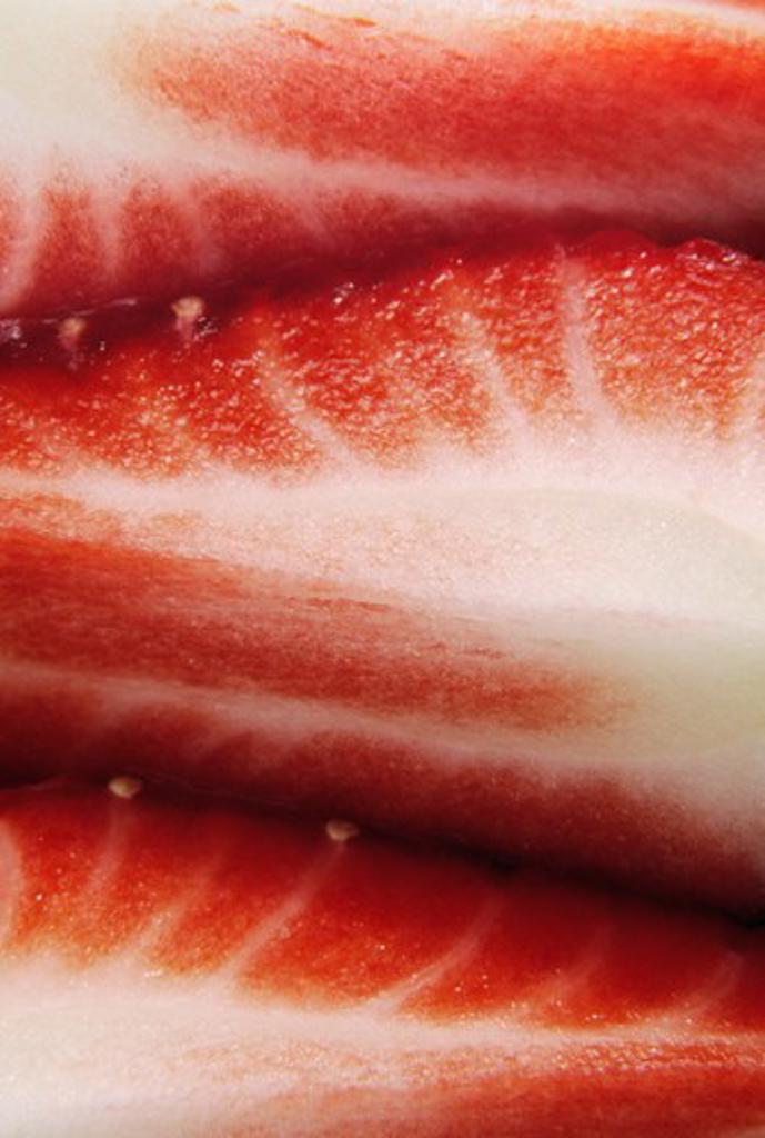 Fragaria, Strawberry : Stock Photo