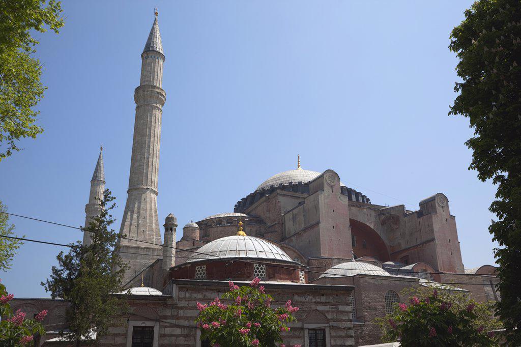 Stock Photo: 1850-45401 Sultanahmet Ayasofya Muzesi Hagia Sofia Museum.Turkey Istanbul
