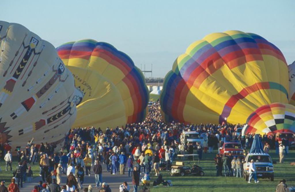 Stock Photo: 1850-8964 Usa, New Mexico, Albuquerque, Balloon Fiesta