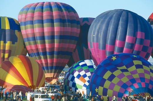 Stock Photo: 1850-8967 Usa, New Mexico, Albuquerque, Balloon Fiesta